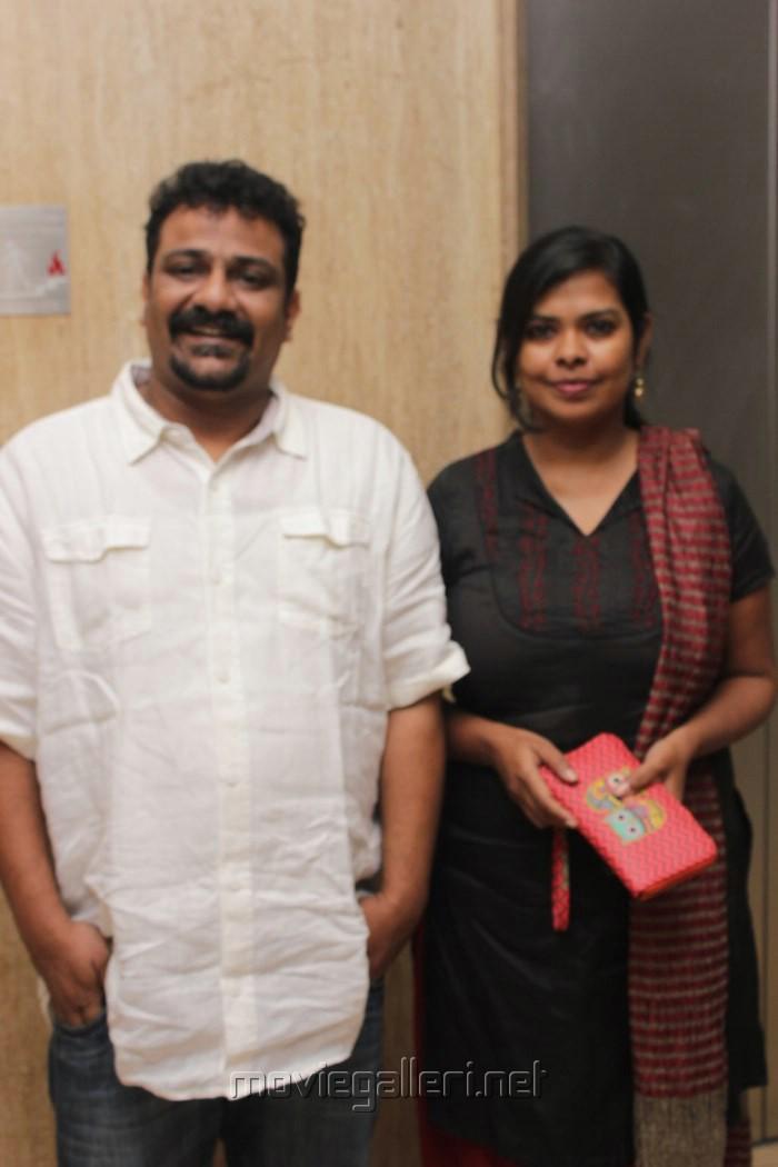Anchor Ramya Aparajith Wedding Reception Stills
