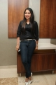 Vijay Tv Anchor Ramya Hot Black Shirt Photos