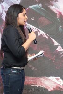 Anchor Ramya Photos @ Mariyaan Movie Press Meet