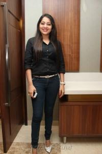 Vijay Tv Anchor Ramya Photos in Black Shirt