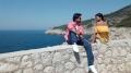 Raj Tarun, Hebah Patel in Andagadu Movie Working Stills