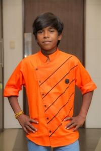 Actor Poovaiyaa @ Andhagan Movie Pooja Stills