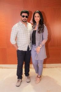 Prashanth, Simran @ Andhagan Movie Pooja Stills