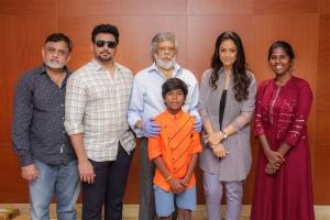 Andhagan Movie Pooja Stills