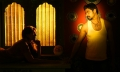 Raj Bharath, Tejaswini in Andhra Mess Tamil Movie Stills