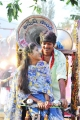 Ulka Gupta, Akash Puri in Andhra Pori Movie Photos