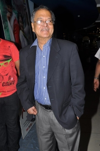Akkineni Ramesh Prasad @ Andhra Pori Premiere Show @ Prasads IMAX Hyderabad