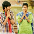 Akash Puri, Ulka Gupta in Andhra Pori Telugu Movie Stills