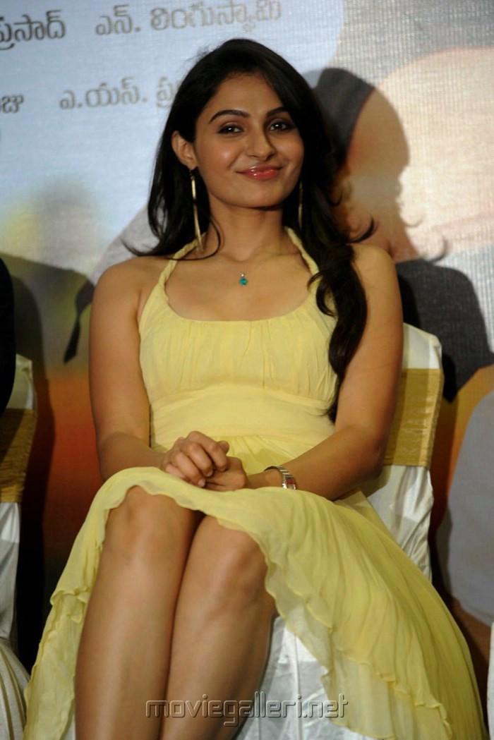 Andrea Jeremiah Latest Hot Stills at Thadaka Movie Press Meet