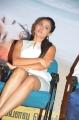 Actress Andrea Jeremiah White Skirt Hot Pics @ Taramani Success Meet