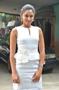 Taramani Actress Andrea Jeremiah Hot White Skirt Pics