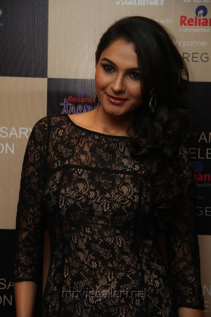 Actress Andrea Jeremiah Latest Hot Images in Black Skirt