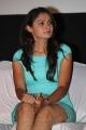 Actress Andrea Jeremiah Hot in Cyan Mini Dress Stills