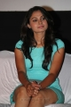 Actress Andrea Jeremiah Hot Thighs Pics in Blue Mini Skirt