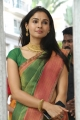 Actress Andrea Jeremiah Silk Saree Images HD