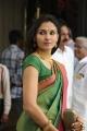 Beautiful Actress Andrea Jeremiah Silk Saree Images HD