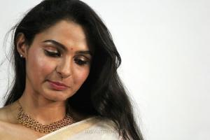 Vada Chennai Actress Andrea Jeremiah in White Saree Photos HD