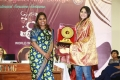 Regina JPR felicitating & Andrea Jeremiah @ Women's Day Celebrations Jeppiaar Engineering College