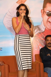 Actress Andrea Hot Latest Images @ Uthama Villain Pre-Release Press Meet