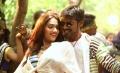 Aishwarya Devan, Dhanush in Anegan Tamil Movie Stills