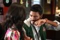 Amyra Dastur, Dhanush in Anekudu Movie Photos