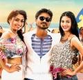 Aishwarya Devan, Dhanush, Amyra Dastur in Anekudu Telugu Movie Stills
