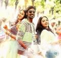 Amyra Dastur, Dhanush, Aishwarya Devan in Anekudu Telugu Movie Stills