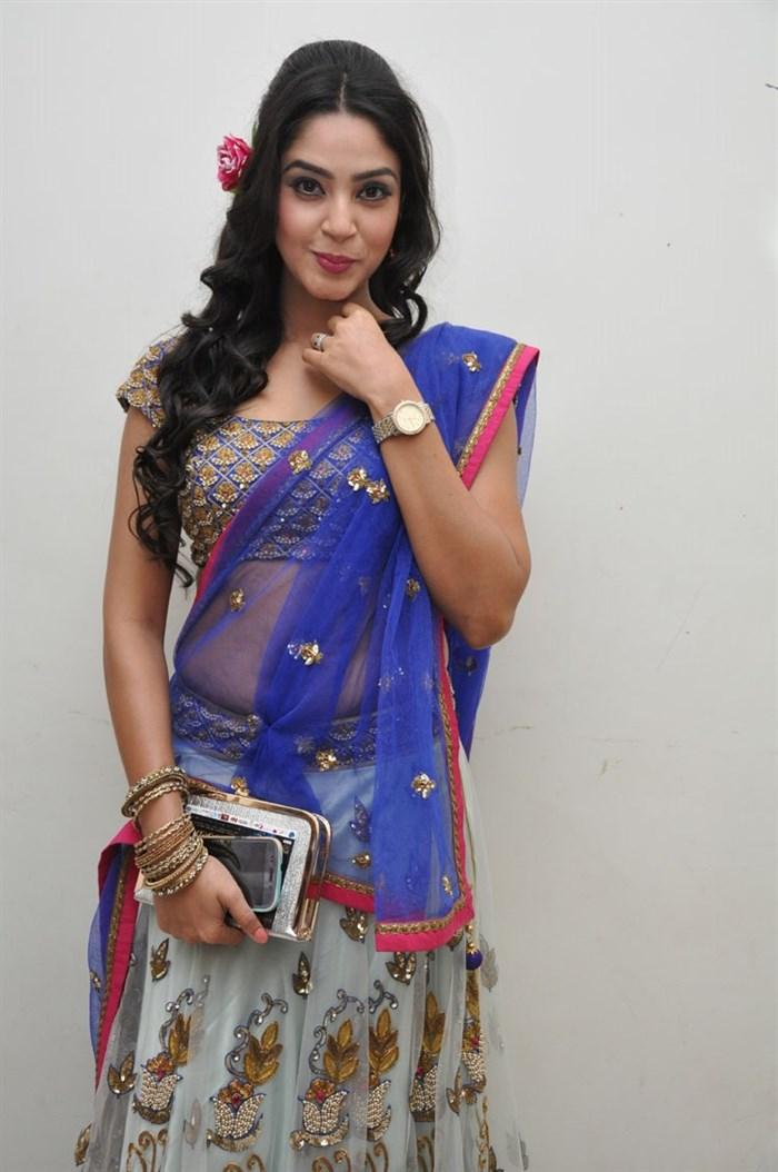 Actress Angana Roy Hot Stills @ Srimanthudu Audio Launch