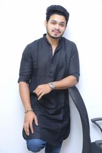 Angel Movie Hero Naga Anvesh Interview Photos