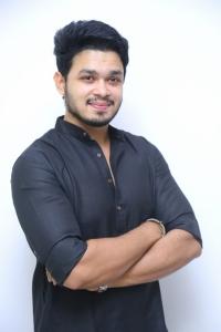 Angel Movie Actor Naga Anvesh Interview Photos