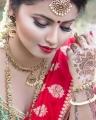 Actress Anicka Vikhraman Saree Photoshoot Stills