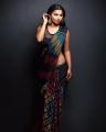 Actress Anicka Vikhraman Saree Hot Photoshoot Stills