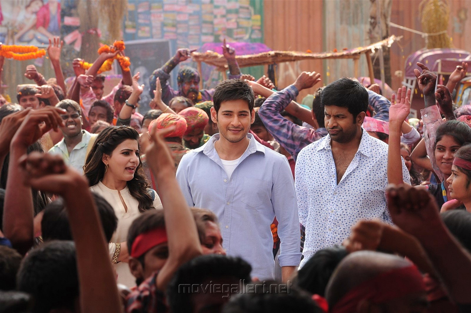 Samantha, Mahesh Babu, Vennela Kishore in Anirudh Movie New Pics HD