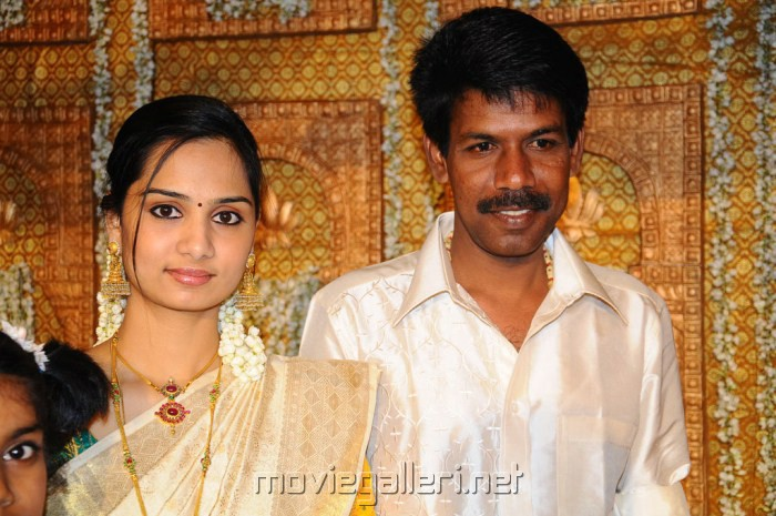 Director Bala And His Wife Photos