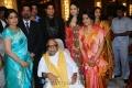 M.Karunanidhi @ Anirudha Srikanth Wedding Reception Stills