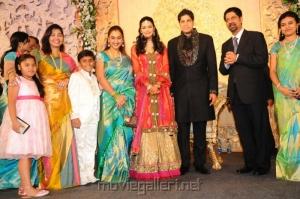 Preetha Vijayakumar @ Anirudha Srikanth Wedding Reception Stills