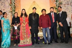 AR Rahman,Arvind Swamy @ Anirudha Srikanth Wedding Reception Stills