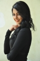 Actress Anisha Ambrose in Black Dress Pictures