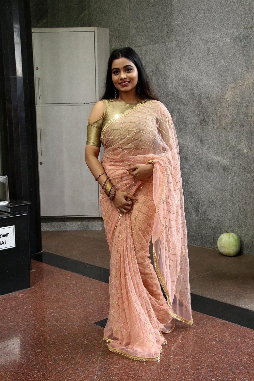 Actress Anisha Xavier Photos @ Thenampettai Mahesh Movie Launch