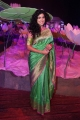 Actress Anjala Zaveri Latest Pics in Green Saree