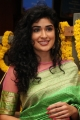 Telugu Actress Anjala Zaveri in Green Saree Latest Pics