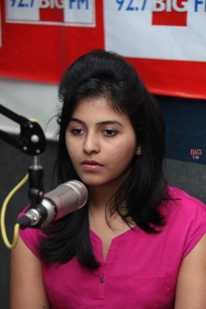Actress Anjali at 92.7 BIG FM Photos