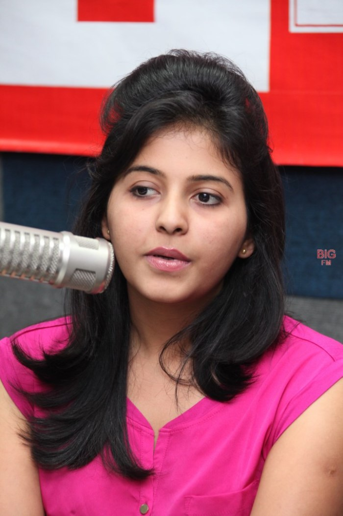 Telugu Actress Anjali at 92.7 BIG FM Hyerabad Photos