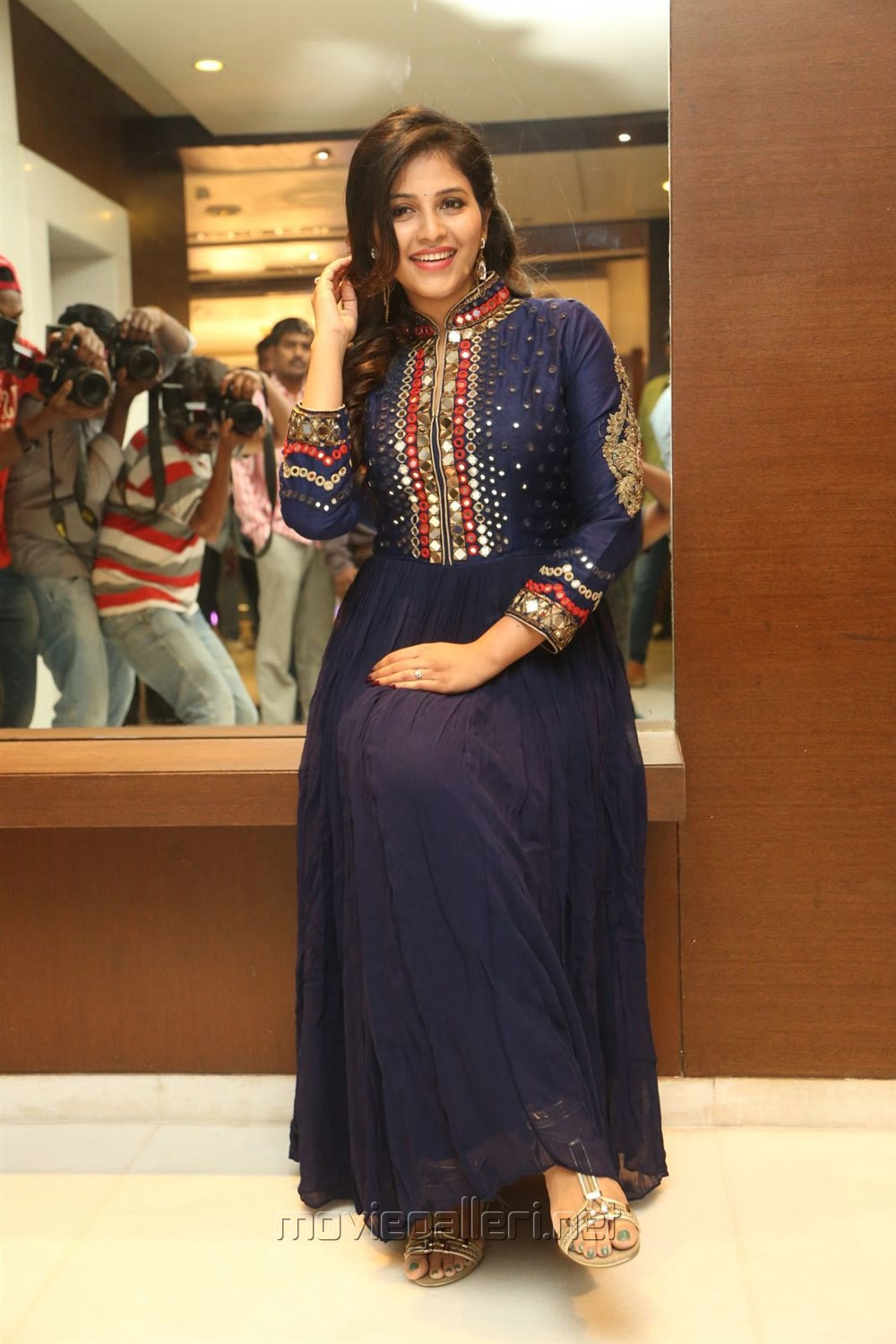 Actress Anjali Beautiful Images @ Chitrangada Pre-Release Function