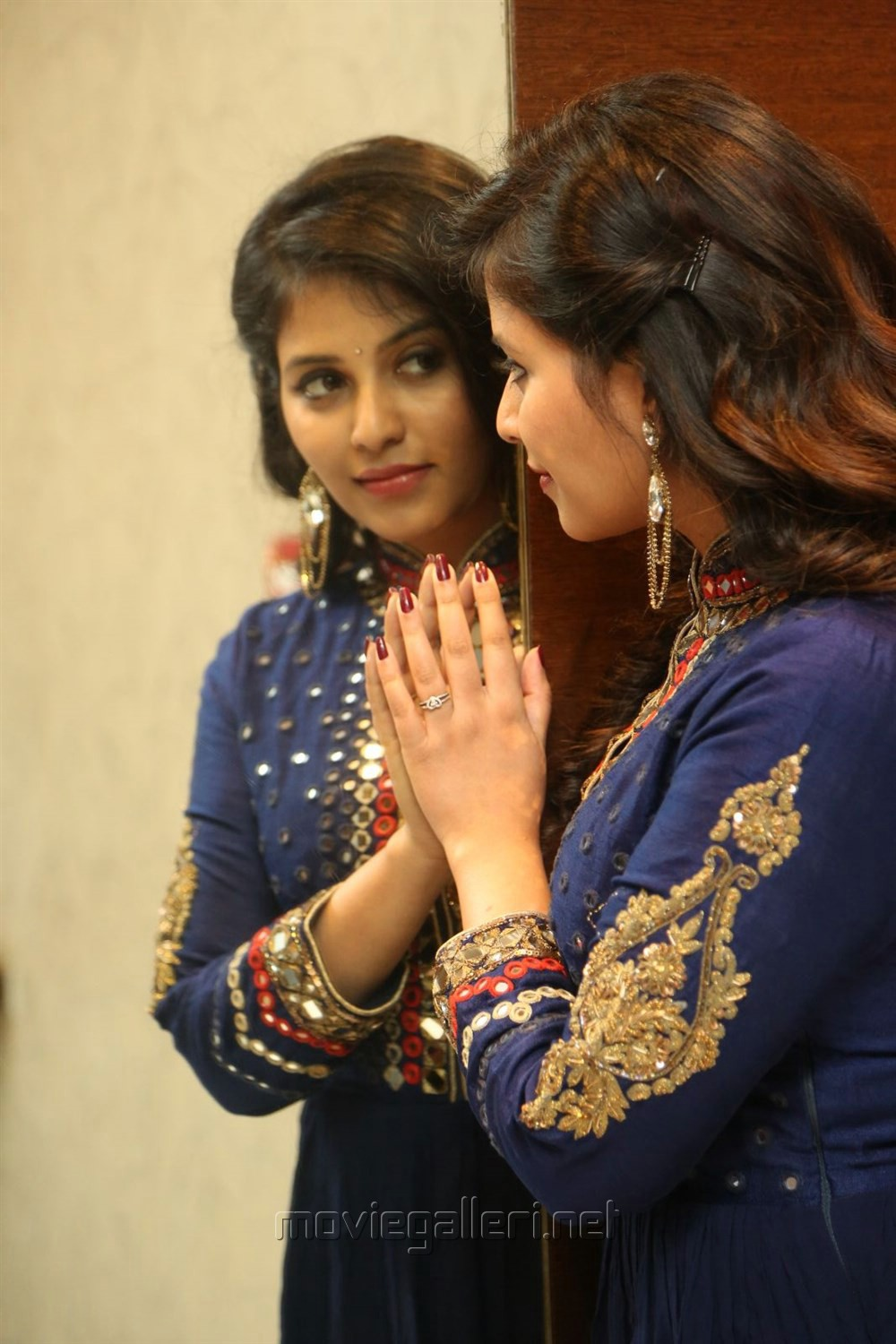 Actress Anjali Images @ Chitrangada Pre-Release Function
