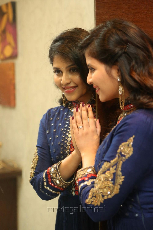 Actress Anjali Beautiful Images @ Chitrangada Pre-Release Function