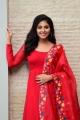 Vakeel Saab Heroine Anjali in Red Churidar Cute Images