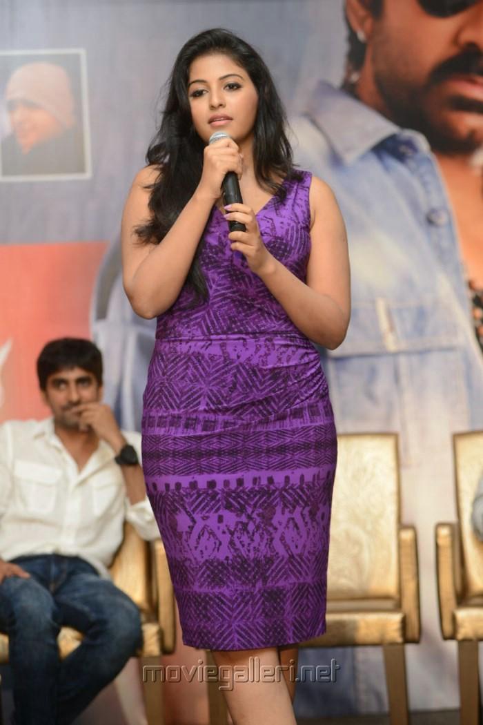 Actress Anjali Hot Photos at Balupu Success Meet