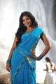 Masala Movie Actress Anjali Hot Blue Saree Photos