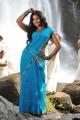 Masala Movie Actress Anjali Hot Blue Saree Wet Photos